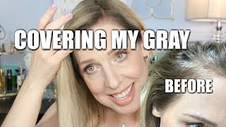 COVERING MY GRAY! with MADISON REED