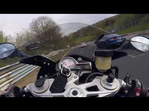 Nurburgring combined GP track BMW S1000RR May 2017