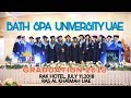 BATH SPA UNIVERSITY UAE GRADUATION 2018