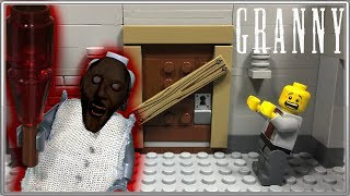 - LEGO Мультфильм Granny Horror game Granny LEGO Stop Motion