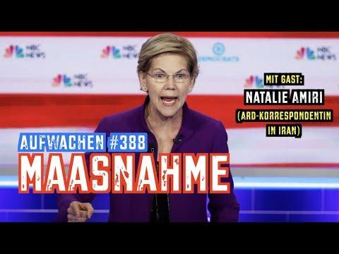 Aufwachen #388: TV-Debatte der US-Demokraten + Gast: Natalie Amiri über die iranische Perspektive