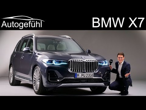 BMW X7 REVIEW Exterior Interior all-new 7-seater SUV - Autogefühl