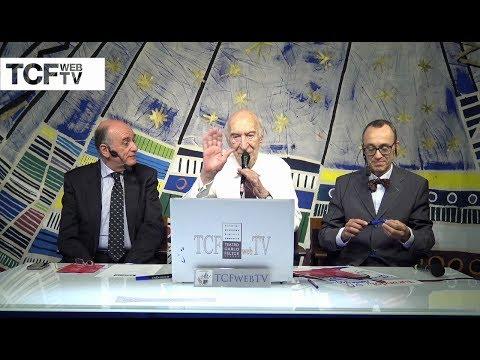 Giuliano Montaldo nello studio di Tcf web tv - Turandot al Teatro Carlo Felice