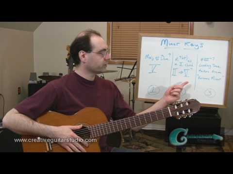 Music Lesson: Harmonic Analysis & Minor Key Theory