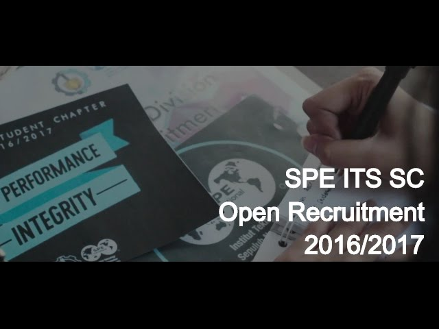 Take Part: SPE ITS SC 2016/2017