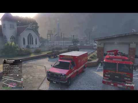 GTA 5 Fire Department Rp