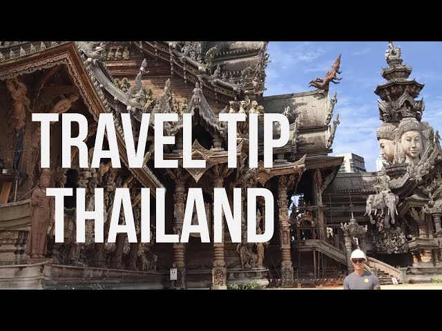Travel Tip Thailand: The Sanctuary of Truth