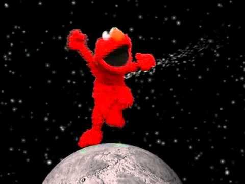 Elmo Dancing On The Moon Youtube