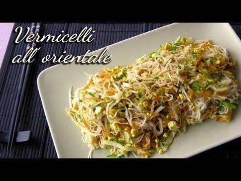 spaghetti di riso allorientale vermicelli di riso youtube