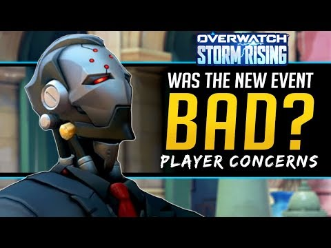 Overwatch New Event isn't that good? Player Concerns and Problems - Storm Rising 2019 Archives Event thumbnail
