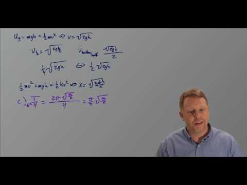AP Physics C 2017 Mechanics Free Response Solutions