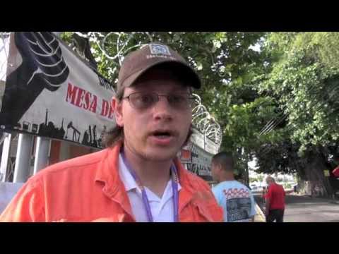 Brazil  Petrobras Petroleum Unionist On Strike Speaks Out & Social Media