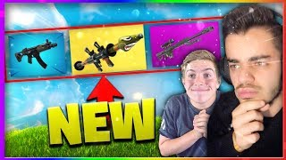 Fortnite - *NEW* ARMES ALÉATOIRE CHALLENGE Ft. MICHOU !
