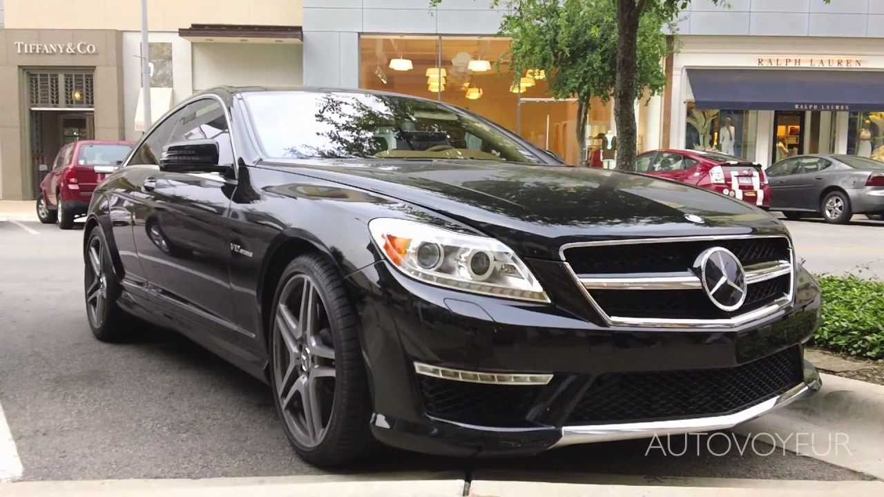 Mercedes Benz Cl 65 Amg V12 Bi Turbo Youtube