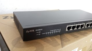 ZyXEL GS1900-8 Ethernet Switch