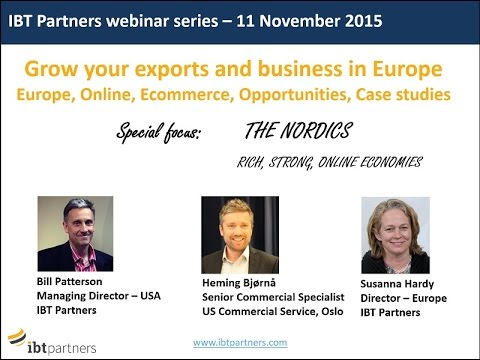 Webinar:  The Nordics  Rich, Strong, Online Economies