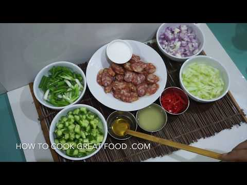 Thai Sweet Sausage Salad Recipe – Kun Chiang