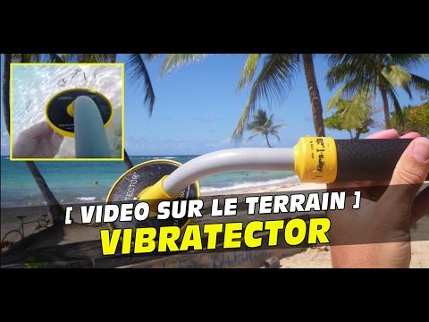 vibratector un d tecteur de m taux miniature qui fait un carton sous l 39 eau. Black Bedroom Furniture Sets. Home Design Ideas