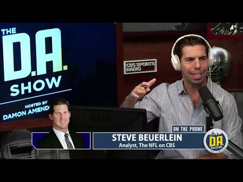 NFL on CBS Analyst Steve Beuerlein