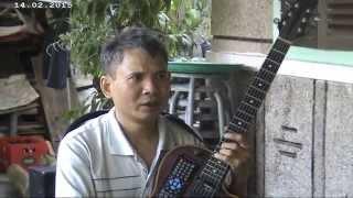 nhạc vàng guitar cô hàng xóm