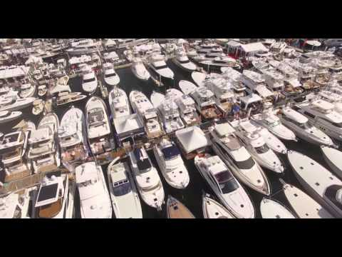 2015 Fort Lauderdale International Boat Show from our drones perspective!
