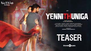 Yenni Thuniga Teaser   Jai, Athulya Ravi   S.K.Vettri Selvan   Sam CS   Suresh Subramanian