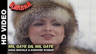Mil Gaye Dil Mil Gaye - Raksha | Asha Bhosle & Kishore Kumar | Jeetendra & Parveen Babi