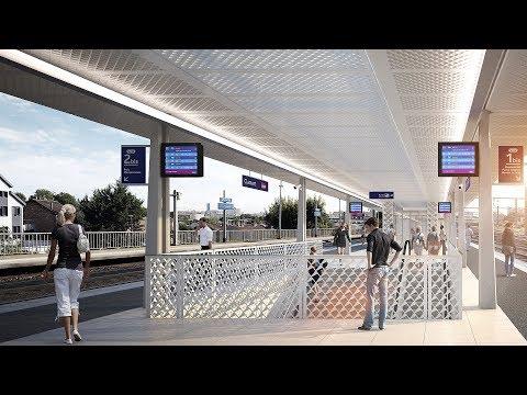 Grand Paris Express - La nouvelle Gare de Clamart - SNCF Réseau