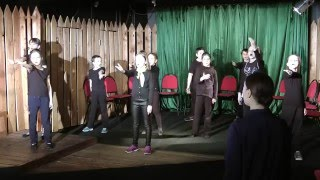 Урок по сценической речи (театральная студия при Театре Армии)