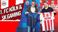 Der 1. FC Köln kooperiert mit SK Gaming