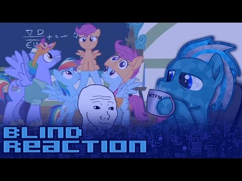 【Blind Reaction】MLP:FiM - S7E07 - Parental Glideance