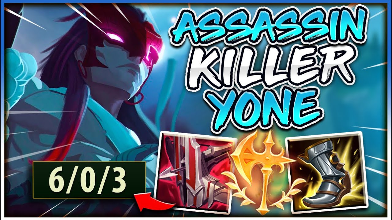 BECOME THE ULTIMATE ASSASSIN KILLER WITH YONE! | Challenger Yone - League of Legends