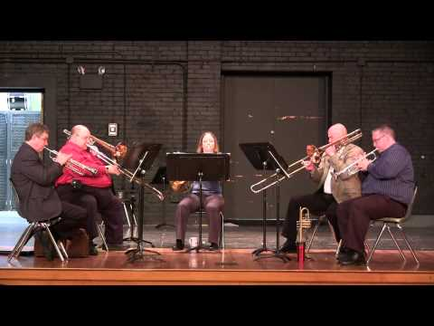 UCO Faculty Brass Quintet -- Sonata from Die Bankelsangerlieder -- Anonymous