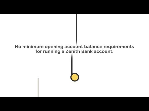 At to check my account number on zenith bank opening