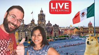 🔴 LIVE Mexican House Tour! Check Out Our New Home In Merida Yucatan Mexico!