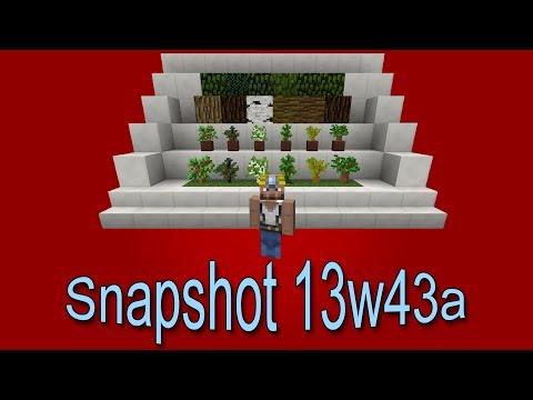 Minecraft 1.7 - (Biome Update) - Snapshot 13w43 a - [FR] [HD]
