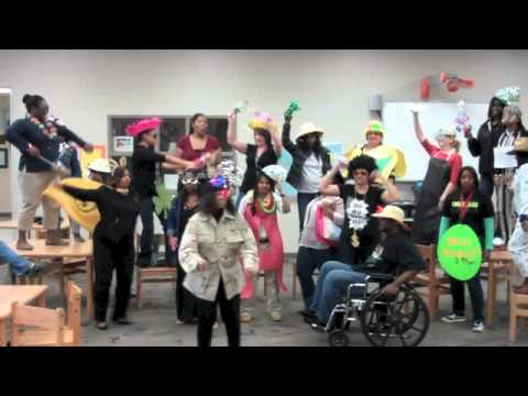 Memorial Middle School Harlem Shakes the FCAT