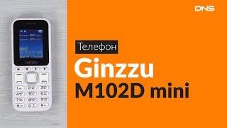 распаковка сотового телефона Ginzzu M102D / Unboxing Ginzzu M102D