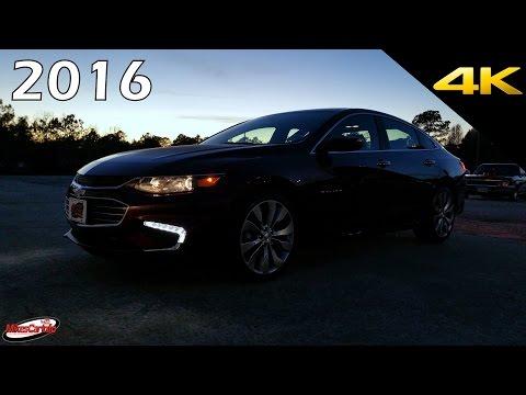 AT NIGHT 2016 Chevrolet Malibu - Interior and Exterior Lighting in 4K