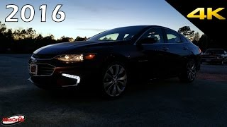 AT NIGHT 2016 Chevrolet Malibu - Interior and Exterior Lighting in 4K