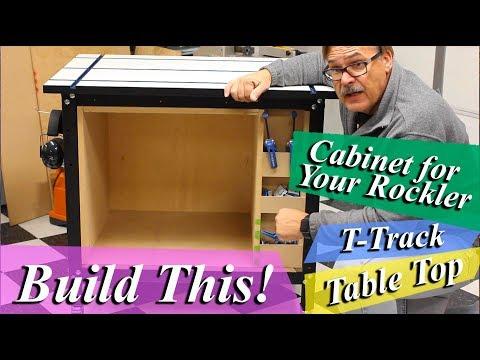 Build This Rockler Table Cabinet  *Mad Nerd Workshop*