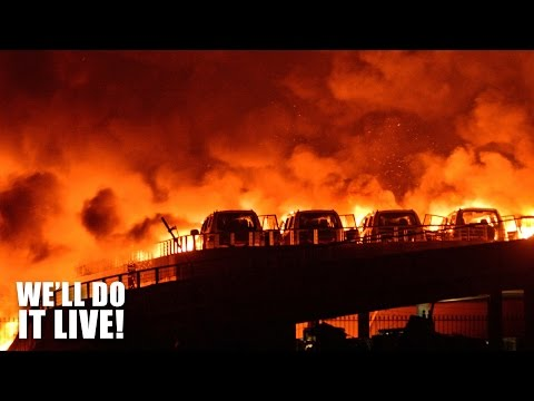 Massive Tianjin Explosion! - We'll Do It Live Episode #4
