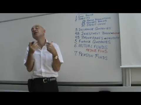 Financial Markets and Institutions - Lecture 04
