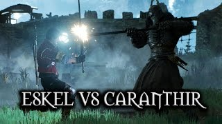 The Witcher 3: Wild Hunt - Eskel vs Caranthir