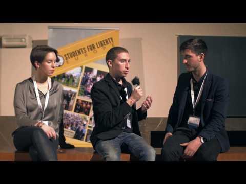 Dominik Esegovic interviewed by Josh Friedman @LibertyCon 2017 in Prague (CZ)