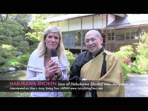 Enlightenment for Shingon-shu buddhist - Habukawa Shoken, Koyasan Japan