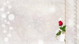 ФУТАЖ СВАДЕБНЫЙ ФОН  Footage Wedding background