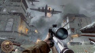Call of Duty World at War - Vendetta Sniper Mission Gameplay