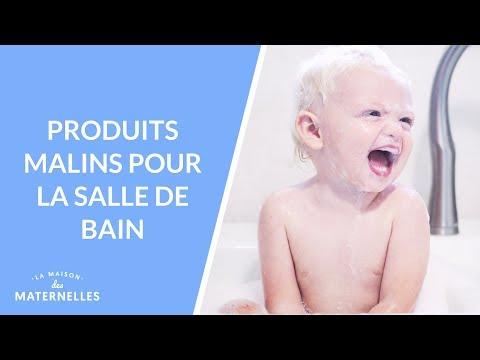 Produits malins pour la salle de bain - La Maison des maternelles #LMDM