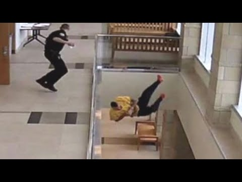 Slip on wet floor caught on security cam from YouTube · Duration:  26 seconds